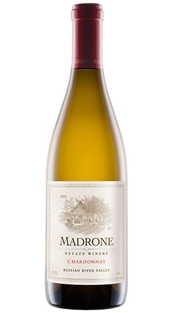 2015 Madrone Estate Winery Chardonnay, Russian River Valley