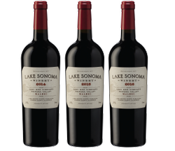 Lake Sonoma Malbec Vertical