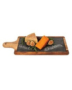 Cheese Board Slate Paddle Medium