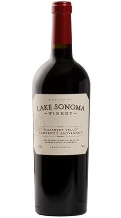 2017 Lake Sonoma Winery Cabernet Sauvignon, Alexander Valley