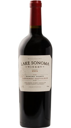 2014 Lake Sonoma Winery Cabernet Sauvignon, Sonoma County