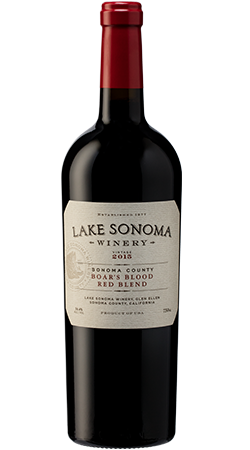 2016 Lake Sonoma Winery Boars Blood Red Blend
