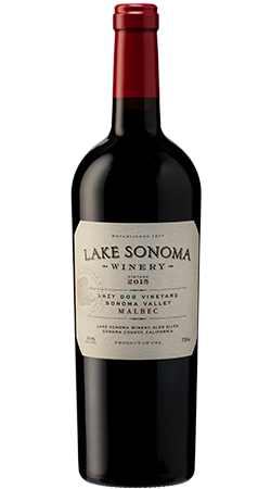 2016 Lake Sonoma Winery Lazy Dog Vineyard Malbec, Sonoma Valley