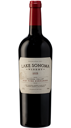 2015 Lake Sonoma Old Vine Zinfandel, Sonoma Valley