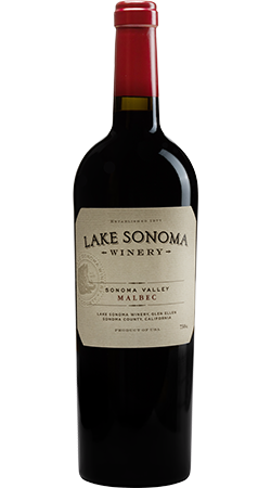 2015 Lake Sonoma Winery Lazy Dog Vineyard Malbec, Sonoma Valley Image