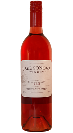 2017 Lake Sonoma Malbec Rose, Sonoma Valley Image