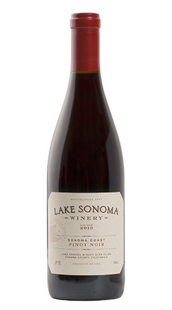 2016 Lake Sonoma Winery Pinot Noir, Sonoma Coast