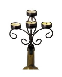 Bottle Candelabra Black