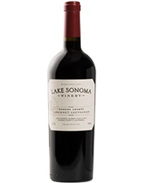 2016 Lake Sonoma Winery Cabernet Sauvignon, Sonoma County
