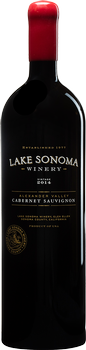 2014 Lake Sonoma Winery Cabernet Sauvignon, Alexander Valley 1.5L