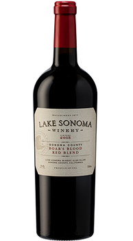2015 Lake Sonoma Winery Boars Blood Red Blend