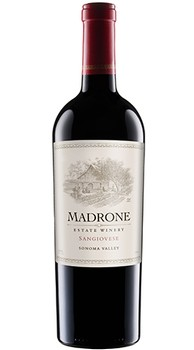 2015 Madrone Estate Winery Sangiovese, Sonoma Valley